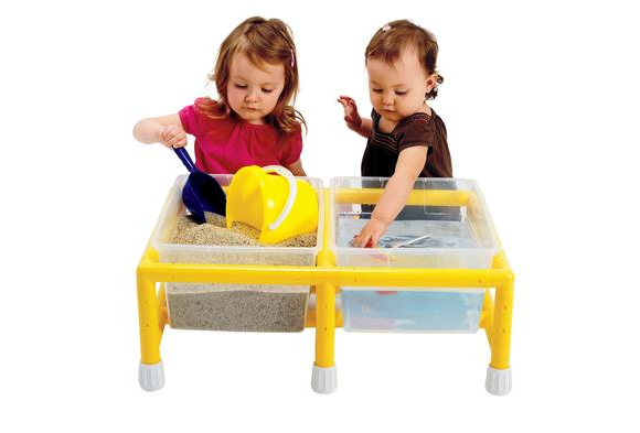 Double Mini Sand & Water Discovery Table
