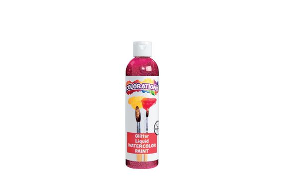 Colorations® Glitter Liquid Watercolo™, Magenta - 8 oz.