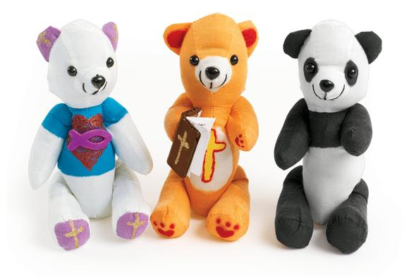 Colorations® Teddy Bears - Set of 12