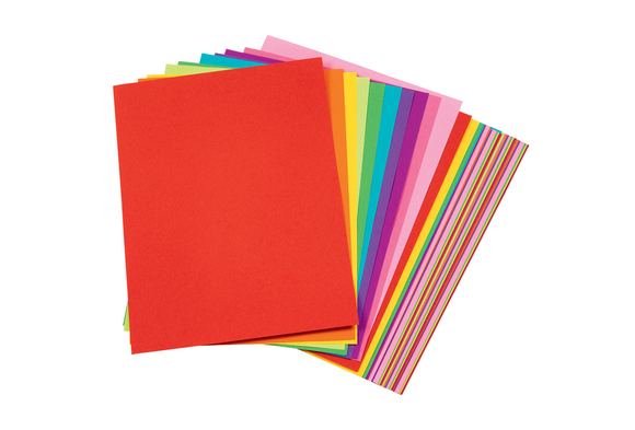 Tru-Ray® Bright Assorted Sulphite Paper, 9