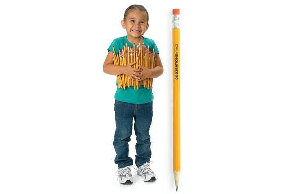 Colorations® No.2 Pencils - Set of 12