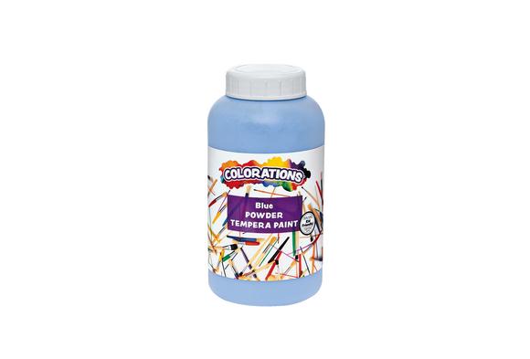 Colorations® Powder Tempera, Blue - 1 lb.