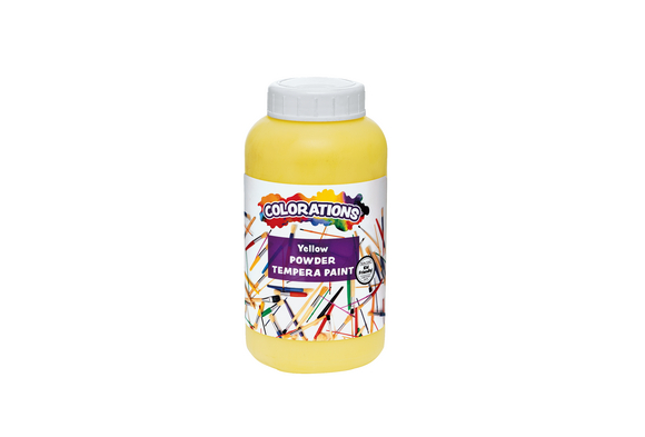 Colorations® Powder Tempera, Yellow - 1 lb.