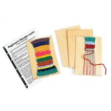 Beginner's Wooden Loom- Set of 12