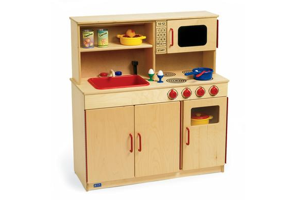 Play kitchen set discount school supply for Cheap kitchen unit sets