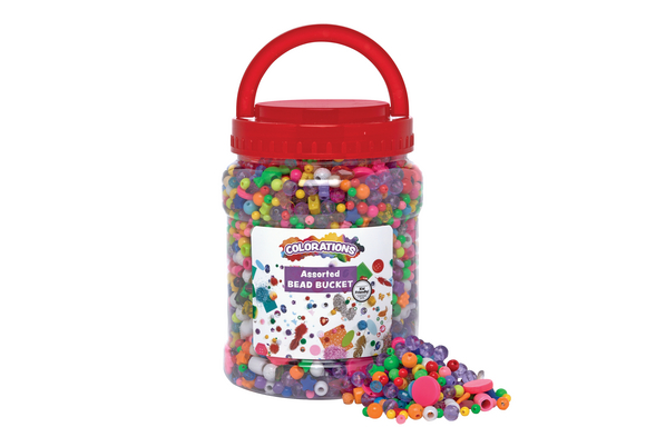 Colorations® Best Value Bead Bucket