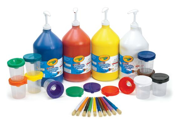 Crayola® Paint and Dispensing Kit