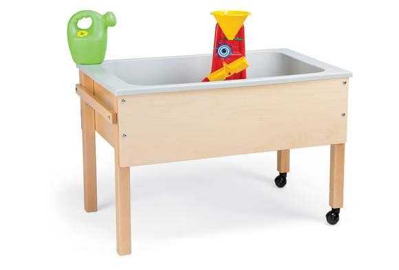 Space Saver Sensory Table with Handle - Toddler Height