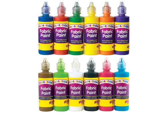 Colorations® Fabric Paint - Set of all 12
