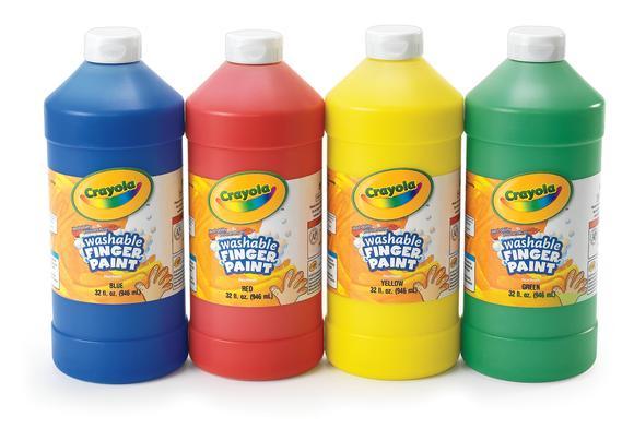 Crayola® 32 oz. Washable Finger Paint - Green