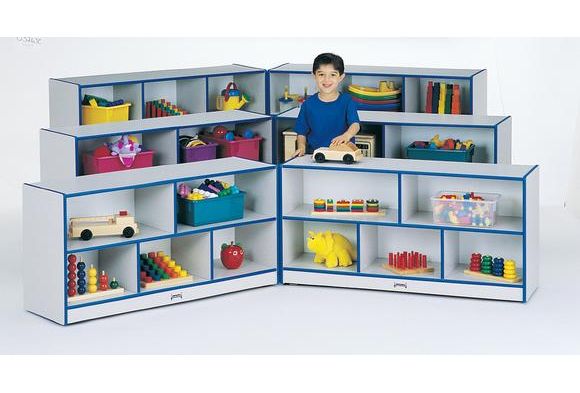 Low Fold-n-Lock Storage Unit