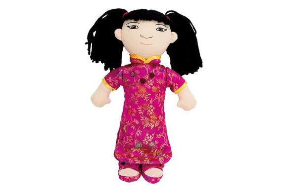 World Friends Doll - Asian Girl