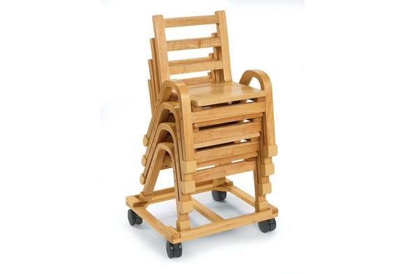 Angeles® NaturalWood™ Collection Chair Cart