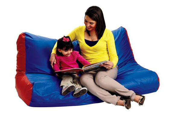 High-Back Beanbag Sofa