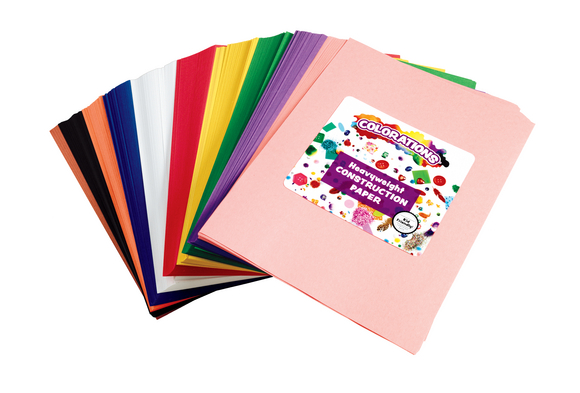 Colorations® Construction Paper Smart Pack - 600 Sheets