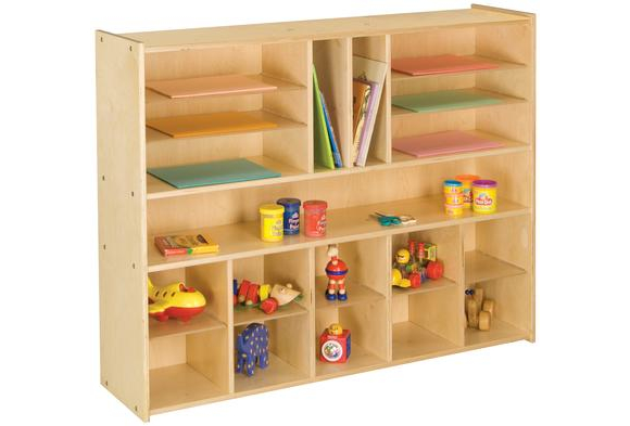 10-Cubbie Sectional Storage - Educator's Choice by Tot Mate®