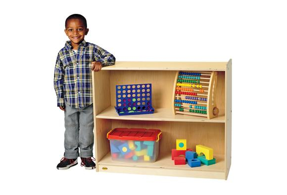 Angeles Value Line™ Birch 2-Shelf Storage