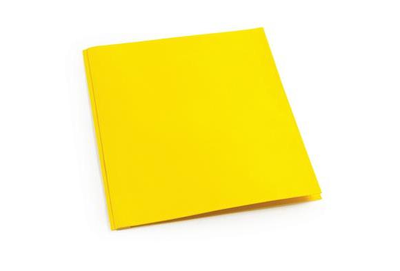 Yellow Pocket & Brad Folder