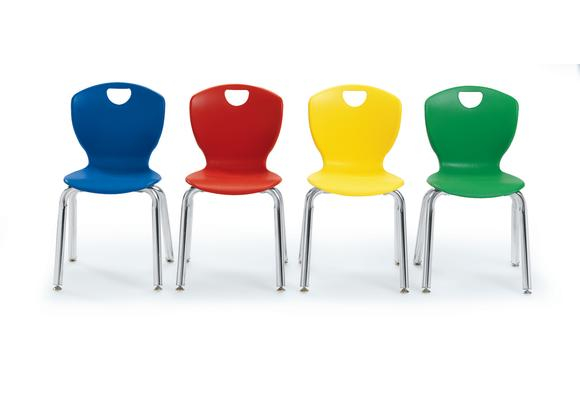 Scholar Craft™ Ovation Stacking Chair - 12