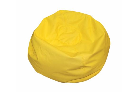 Yellow Deluxe Beanbag - 35