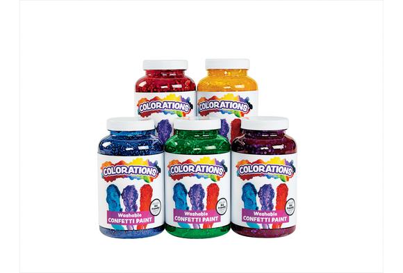 Colorations® Confetti Paint - Set of 5