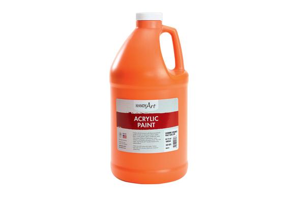 Acrylic Paint - 1/2 Gallon, Orange