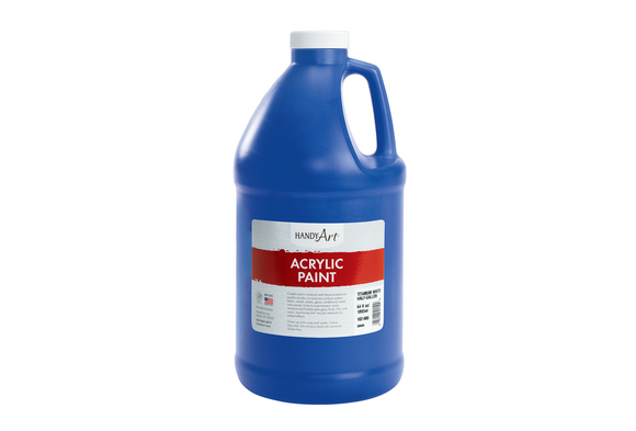 Acrylic Paint - 1/2 Gallon, Blue