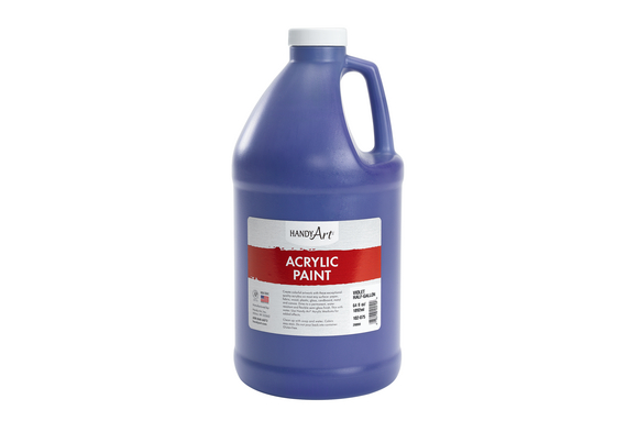 Acrylic Paint - 1/2 Gallon, Purple