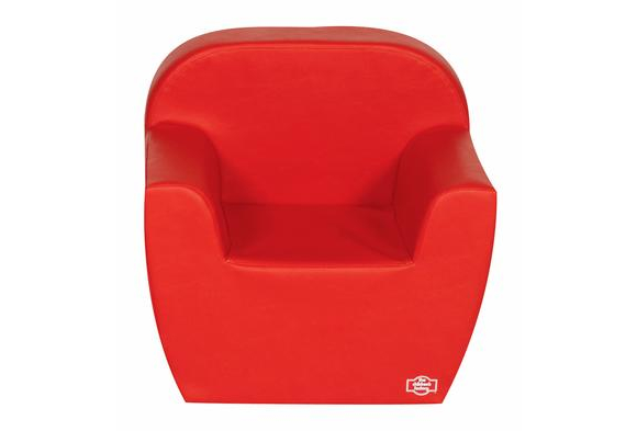 Primary Preschool Club Chair - Red