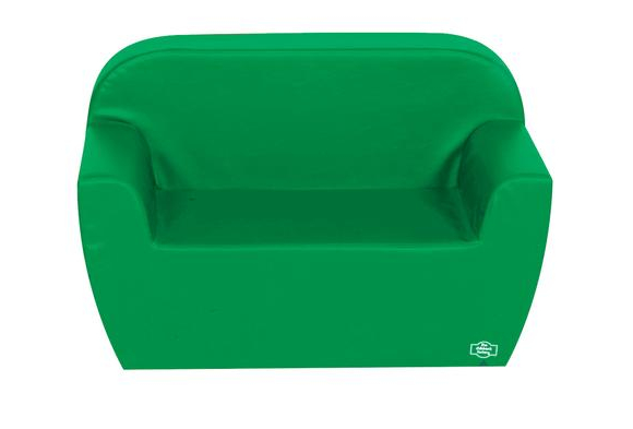 Primary Preschool Club Sofa - Green