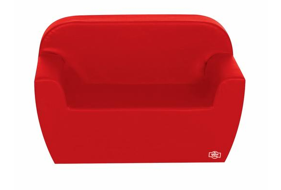 Primary Preschool Club Sofa - Red