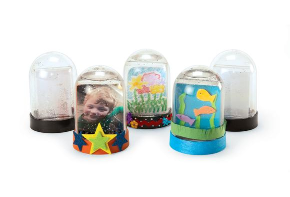Colorations® Create Your Own Snow Globe - Set of 12