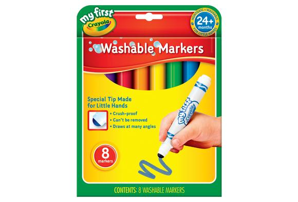 My First Crayola™ Washable Markers - Set of 8