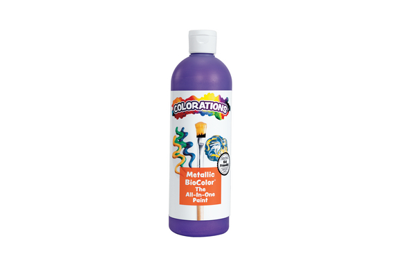 BioColor® Paint, Metallic Purple - 16 oz.