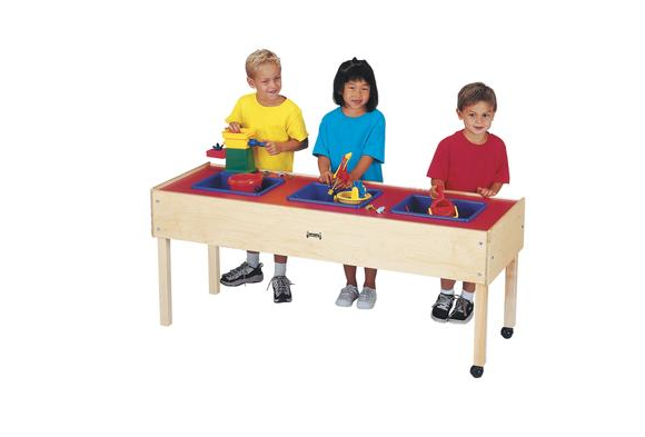 3-Tub Sensory Table