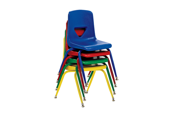 Scholar Craft™ Stacking Chairs with Matching Legs - 13-1/2