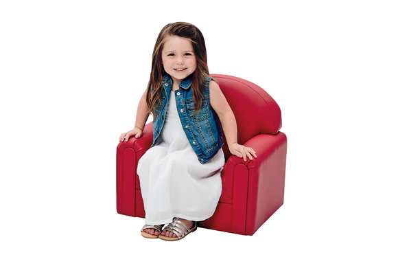 Brand New World Infant Toddler Enviro-Child Upholstery Chair - Primary Colors