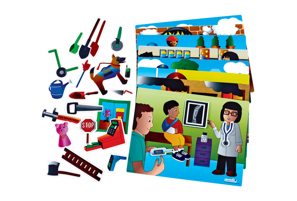 Excellerations® Tools on the Job Activity Set - 32 Pieces