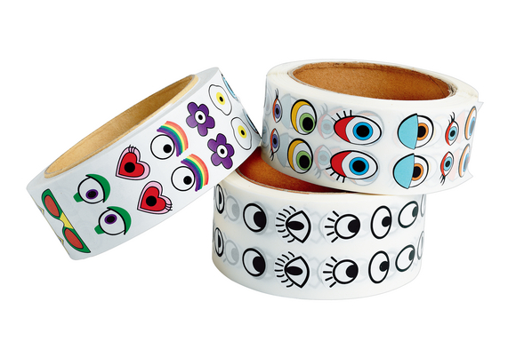 Colorations® Eye Stickers
