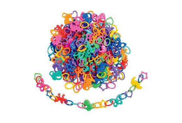 Fun Link Beads - 1/4 lb.