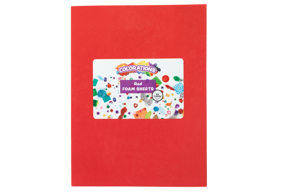 Red sheet discount school supply for Red craft foam sheets