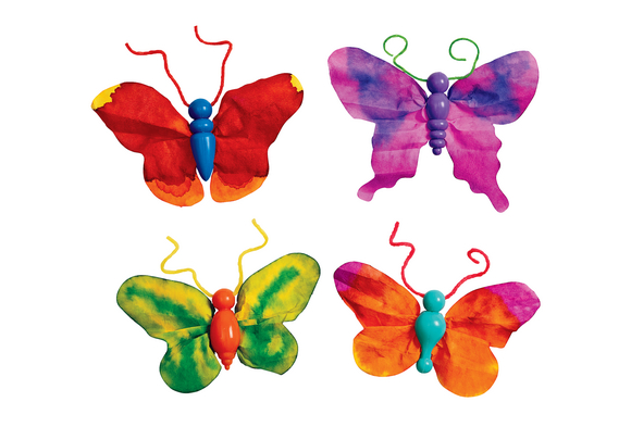 Butterfly Ornaments Kit - 75 Pieces