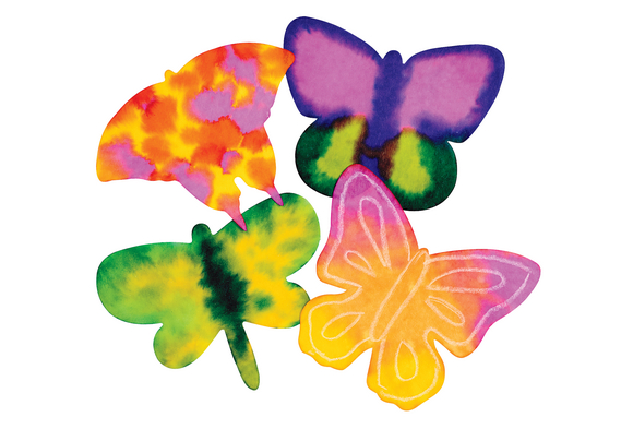 Liquid Watercolor™ Diffusing Paper Butterfly Shapes - Set of 80