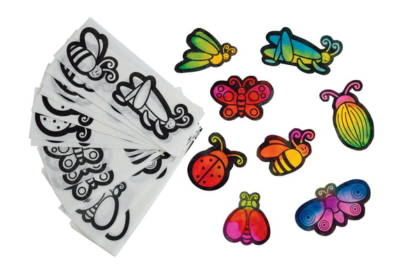 Liquid Watercolor™ Diffusing  Mini Paper Insects  -  Set of 80