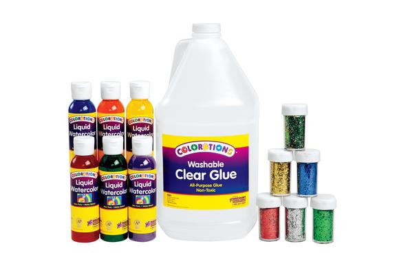 Colorations® Glitter Slime Kit