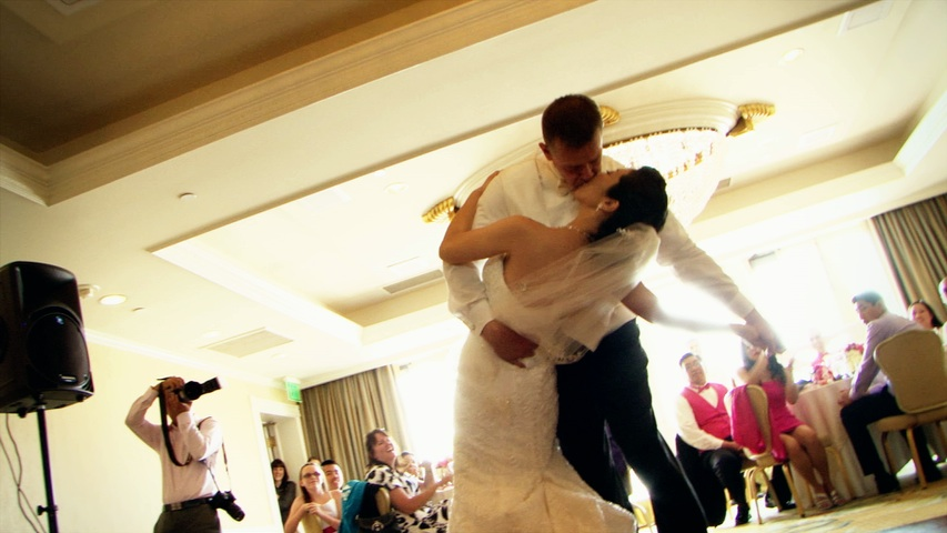 Noriko and Will's first dance video