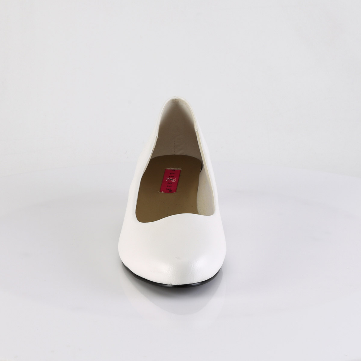 "Pleaser Pink Label Black 1 1//4/"" Block Heels Shoes Adult Women GWEN01//BPU"
