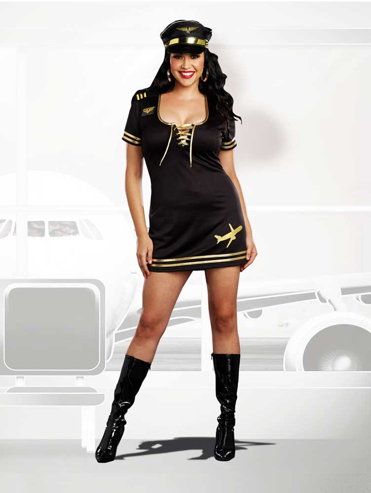Assuming masculine Stewardess adult costume many cultures