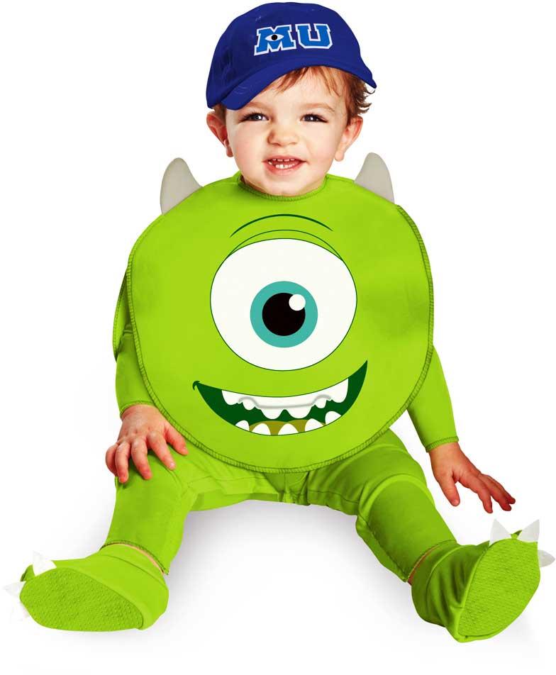 infant baby boys disney pixar monsters inc mike - Monsters Inc Baby Halloween Costumes