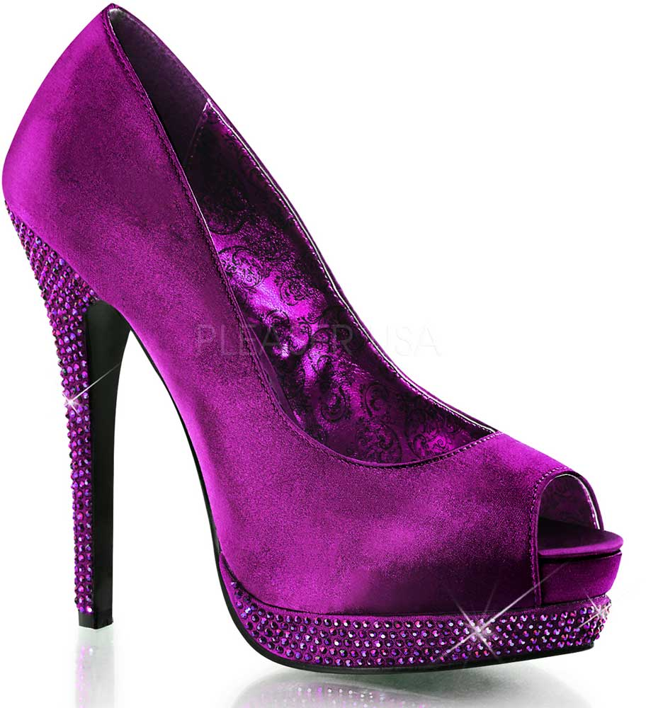 Product Name:Rhinestone Block Heels, Category:Shoes, Price